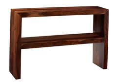 CUBE Console Table With Shelf