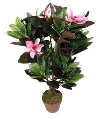 Artificial Plant 85cm Pink Magnolia Plant
