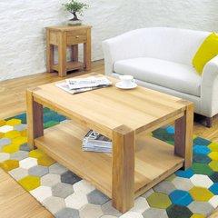 Baumhaus ASTON Oak Coffee Table Medium