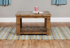 Baumhaus Heyford Rough Sawn Oak Open Coffee Table