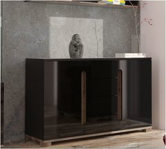 BLOSSOM Black Gloss Sideboard