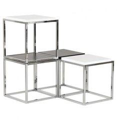 KOKOON Kvadra Multiuse Table / Cube Stackable Black