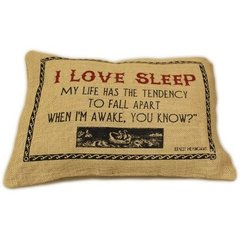 I Love Sleep Cushion
