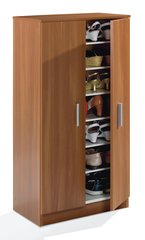 BREEZE Nut Brown Shoe Cupboard