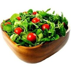 Acacia Square Salad Bowl / Fruit Bowl