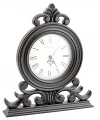 Wood Black Clock 32cm
