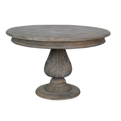 Round Pedestal Acorn Dining Table 120cm