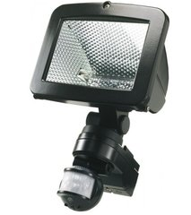 Timeguard MLB500C Night Eye PIR Black Halogen Floodlight