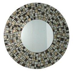 Round Shell Mirror