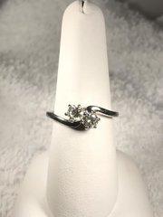 .54 ct 14k white gold diamond ring w246
