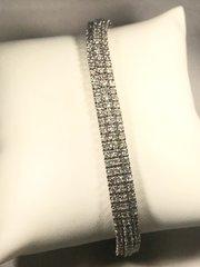 W-266 White Gold Diamond Bracelet
