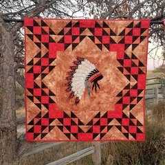 Regalia Wall Hanging, Native American Headdress, Laser Cut