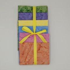 Pastels 6- 1/2 Yard Cuts of Coordinating Fabrics, 100% Cotton