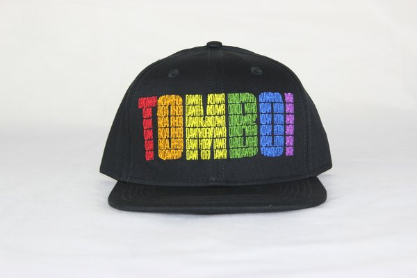 TOMBOI Rainbow Snapback Hat