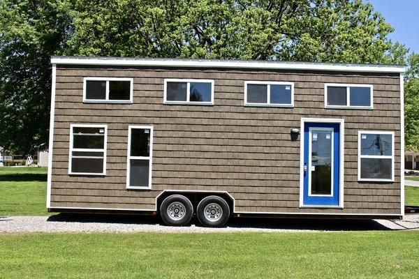 28' Chalet Shack Tiny House On Wheels | Mini Mansions Tiny Home