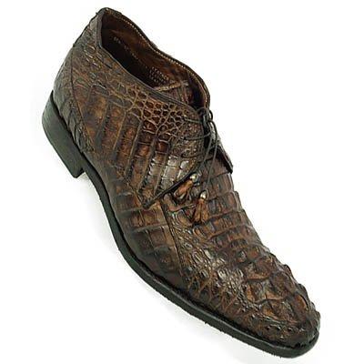Calzoleria Toscana Crocodile Horn Back Boot Cellini Uomo