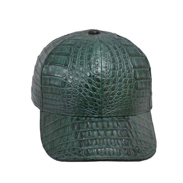 Cellini Custom Green Crocodile Hat Cellini Uomo Fine