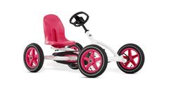 Buddy Pink & White Kid's Pedal Go Kart
