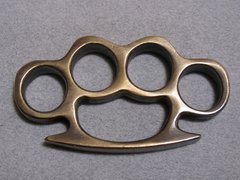 Antique Finish - Real Deal 100% Solid Brass Knuckles