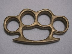 Stonewashed - Real Deal 100% Solid Brass Knuckles