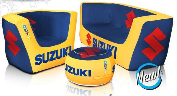 Custom Printed Inflatable Furniture Company logo or product