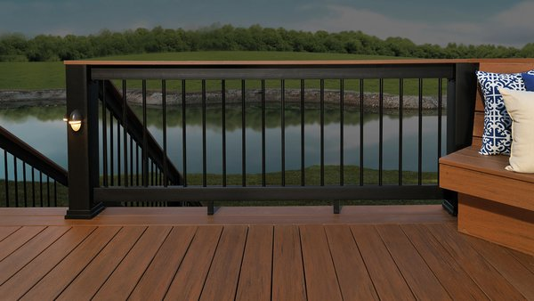 Radiance Rails Pack Timbertech White Black Brownstone