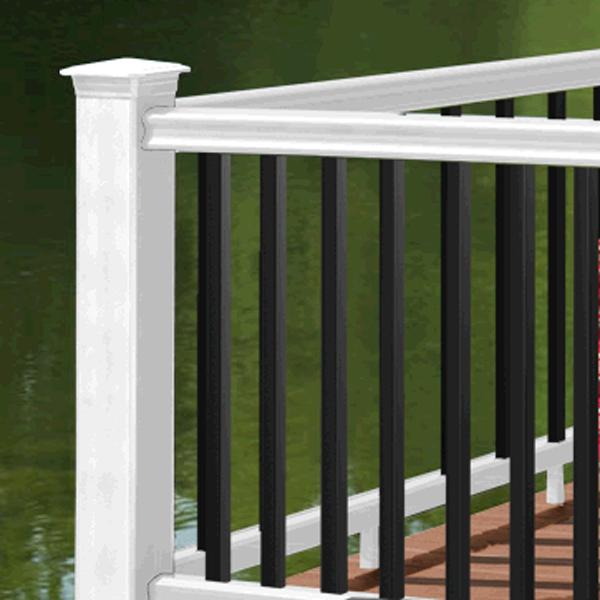 Radiance Rails Pack Timbertech White Black Brownstone