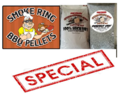 ***SPECIAL*** Smoke Ring/Cookingpellets-Combo-Box, 60 Pounds for only