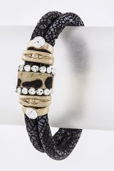 Snake Skin Pattern Leopard Bracelet