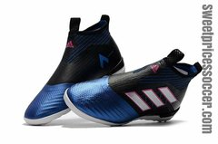 adidas ACE Tango 17+ Purecontrol IC BLACK/BLUE +free bag Indoor shoes