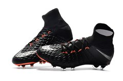 NIke Hypervenom Phantom III DF FG ORANGE/BLACK +freebag