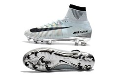 Mercurial Superfly V CR7 silver +FREE BAG