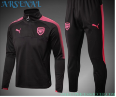 Arsenal Jersey training suit 17-18 set Sleeves