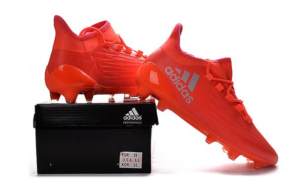 adidas x 16 1. adidas x16.1 firm ground cleats orange+free bag adidas x 16 1