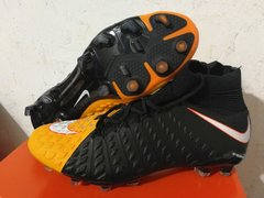 NIke Hypervenom Phantom III DF FG / ORANGE/BLACK +freebag