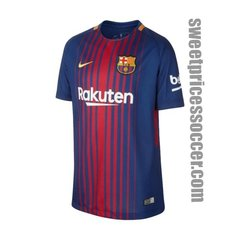 BARCELONA JERSEY SEASON 2017-2018 HOME KIT
