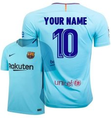 BARCELONA JERSEY CUSTOM SEASON away 2017-2018