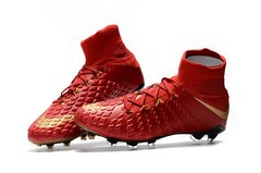 NIke Hypervenom Phantom III DF FG RED +freebag