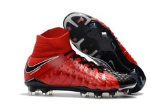 NIke Hypervenom Phantom III DF FG RED/ BLACK+FREE BAG