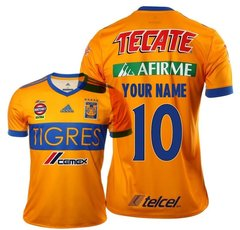 TIGRES CUSTOM Men Jersey Football Soccer UANL 17-18 MEXICO