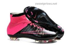 Nike Mercurial Superfly FGpink+bag