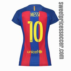 woman BARCELONA JERSEY SEASON 2016-2017 fast shipping
