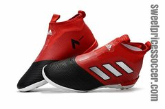 adidas ACE Tango 17+ Purecontrol IC RED/BLACK+free bag Indoor shoes