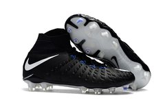 NIke Hypervenom Phantom III DF FG/ WHITE/BLACK FREE BAG