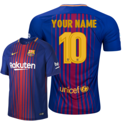 BARCELONA JERSEY CUSTOM SEASON 2017-2018