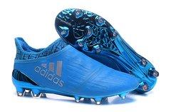 adidas X 16+ Purechaos FG/AG blue =free bag