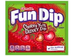 Wonka Fun Dip Lik-M-Aid Cherry - 4ct