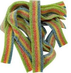 "Rainbow ""Quattro"" Sour Belts Sweet Box"