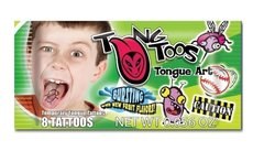 TungToos Candy Tongue Tattoos