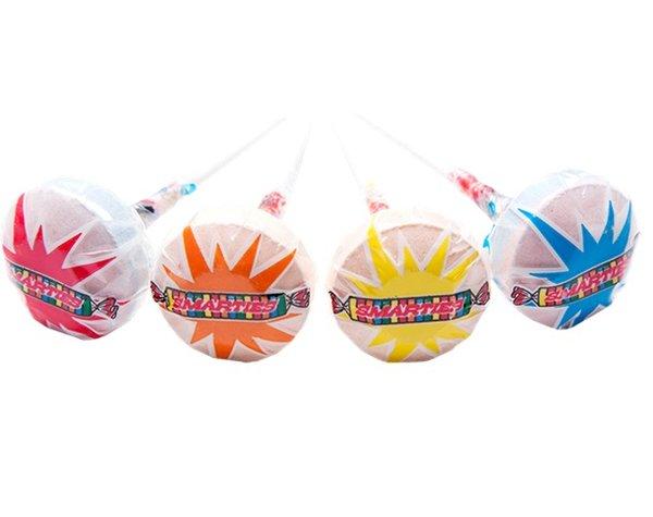 Smarties Lollipops 1 lb Bag | Sweet Box Candy Smarties Lollipops